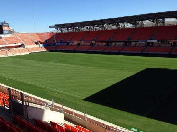BBVA Stadium, secção: 202, fila: J, lugar: 13