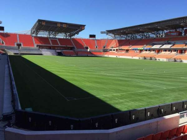 BBVA Stadium, secção: 118, fila: F, lugar: 12