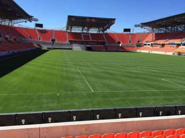 BBVA Compass Stadium, secção: 117, fila: F, lugar: 15