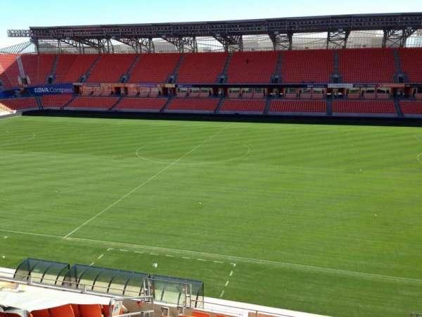 BBVA Stadium, secção: 205, fila: D, lugar: 11