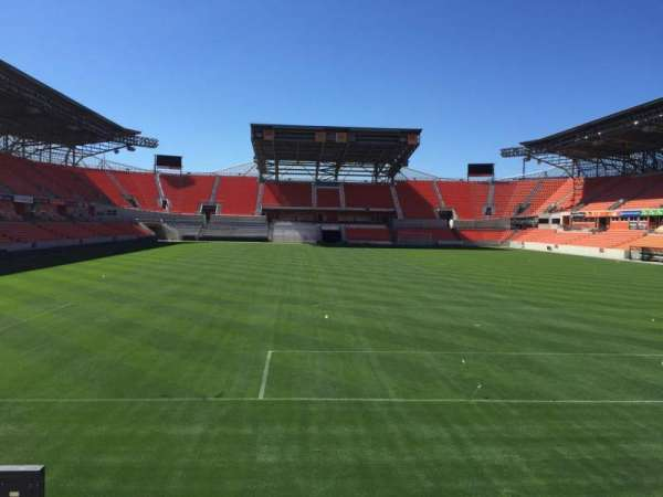 BBVA Stadium, secção: 116, fila: F, lugar: 15