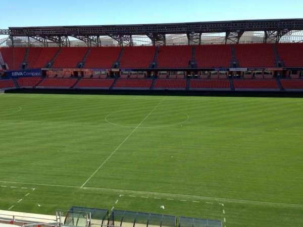 BBVA Stadium, secção: 206A, fila: D, lugar: 10