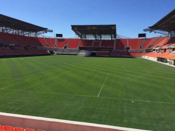 BBVA Compass Stadium, secção: 114, fila: F, lugar: 15