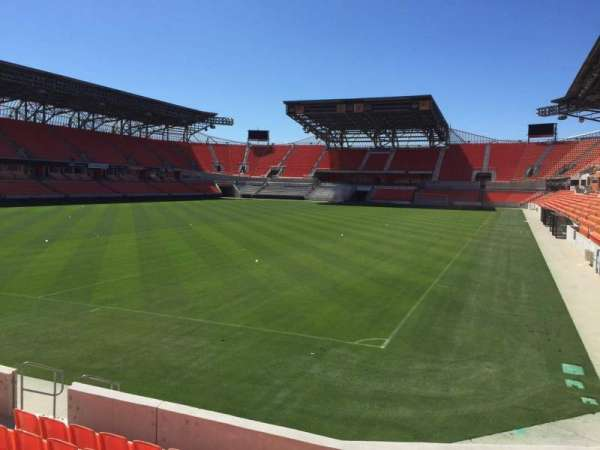 BBVA Stadium, secção: 113, fila: F, lugar: 13