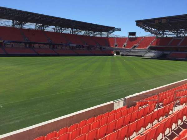 BBVA Stadium, secção: 109, fila: F, lugar: 15