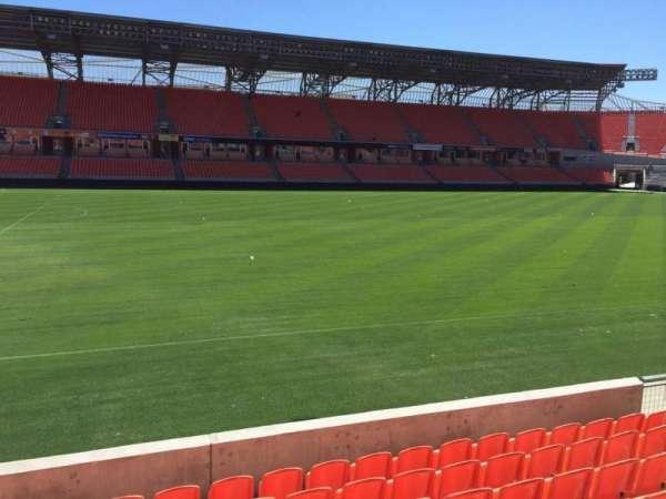 BBVA Compass Stadium, secção: 108, fila: F, lugar: 15