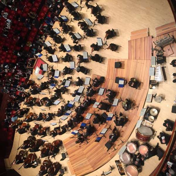 Verizon Hall at the Kimmel Center, secção: Tier 3, fila: 118, lugar: 4