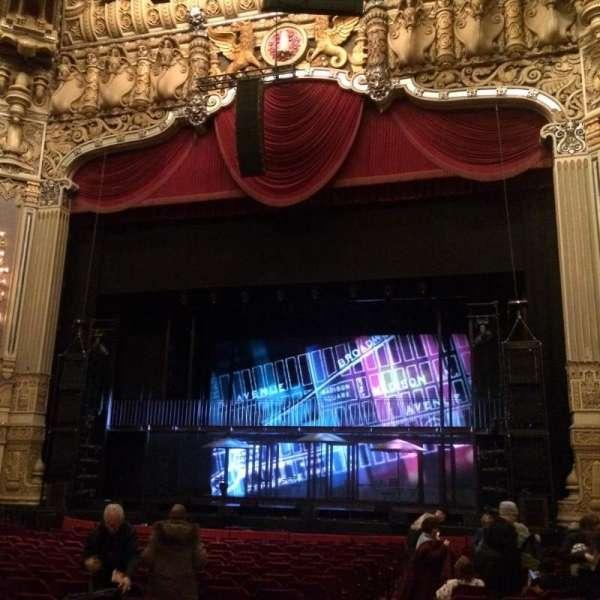 Nederlander Theatre (Chicago), secção: Orchestra R, fila: U