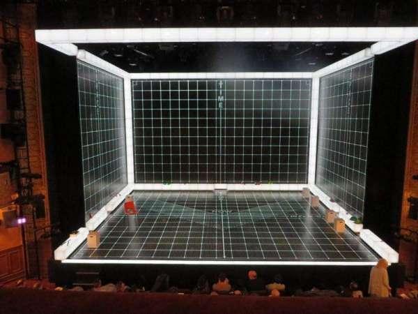 Ethel Barrymore Theatre, secção: Front Mezzanine C, fila: A, lugar: 106