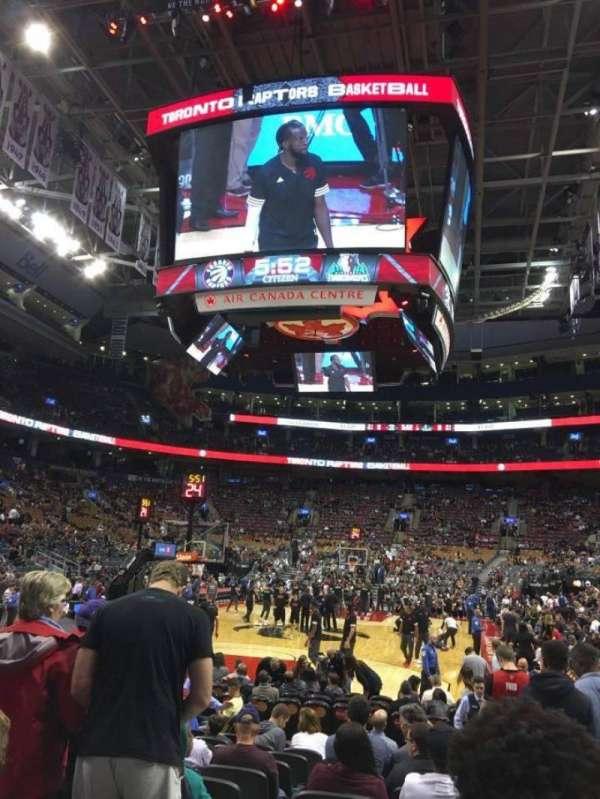 Scotiabank Arena, secção: 113, fila: 5, lugar: 1-2
