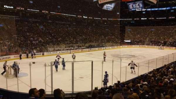 Scotiabank Arena, secção: 111, fila: 14, lugar: 9