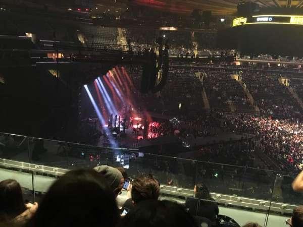 Madison Square Garden, secção: 222, fila: 7, lugar: 11