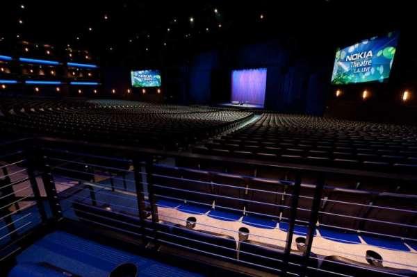 Microsoft Theater, secção: Orchestra Center Right, fila: SS, lugar: 205