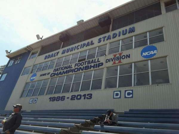 Braly Stadium, secção: ED-DC