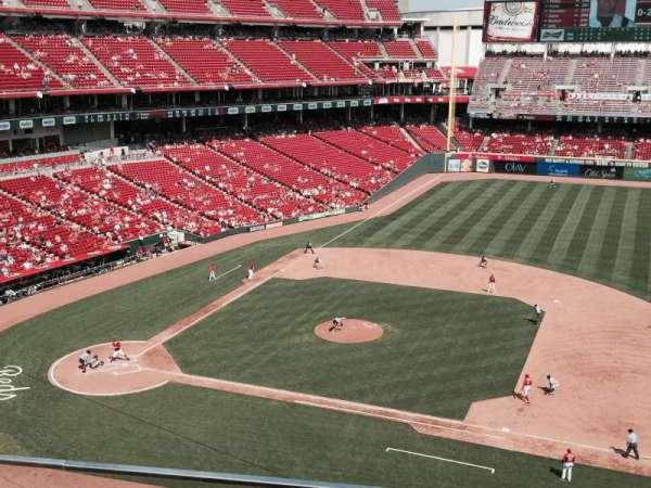 Great American Ball Park, secção: 431, fila: A, lugar: 13