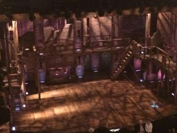Richard Rodgers Theatre, secção: Rear Mezzanine L, fila: L, lugar: 5