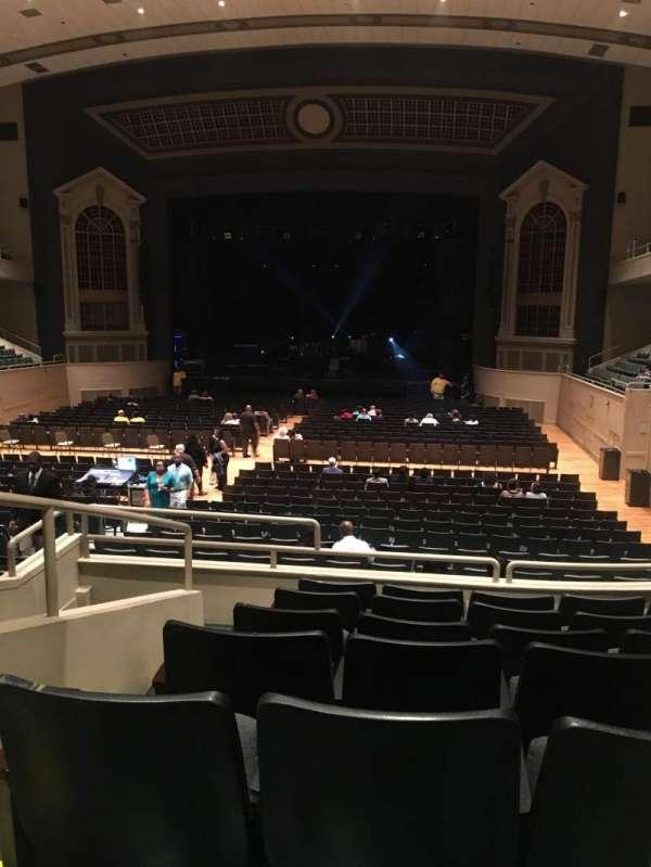 Township Auditorium, secção: First Balcony Section G (FBAG), fila: G, lugar: 2