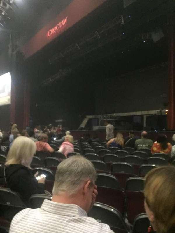 Choctaw Grand Theater, secção: 101, fila: L, lugar: 4