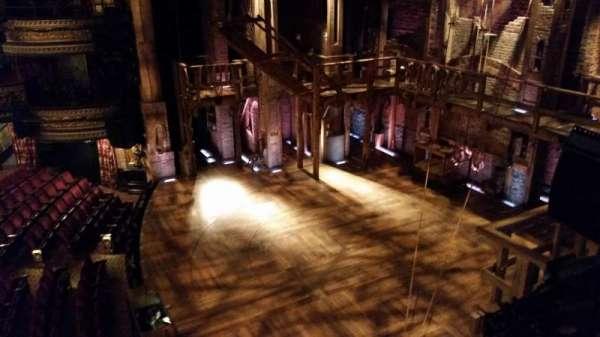 Richard Rodgers Theatre, secção: Box G, lugar: 3