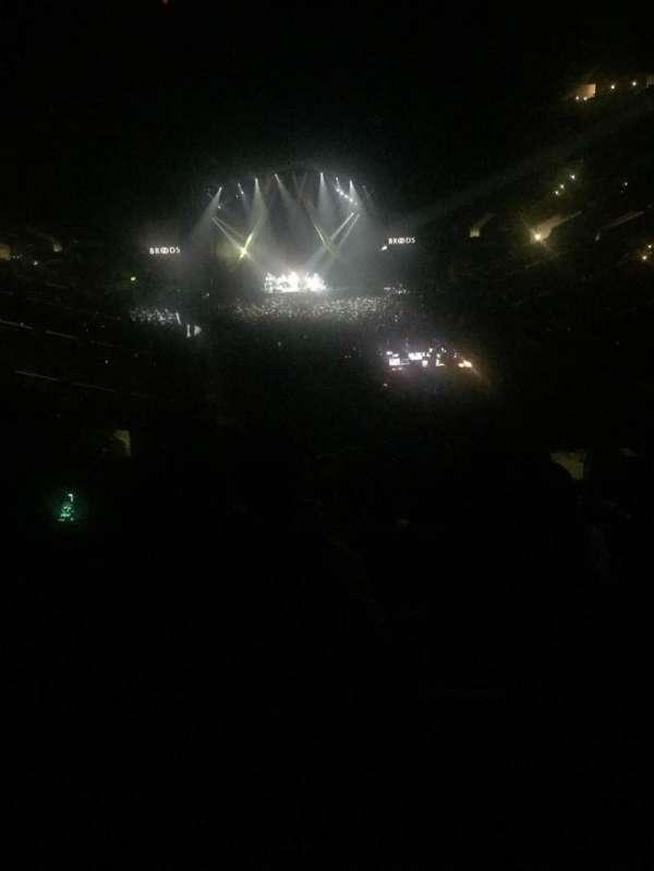 Staples Center, secção: 209, fila: 11, lugar: 6