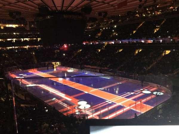 Madison Square Garden, secção: 201, fila: 1, lugar: 17