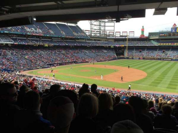 Turner Field, secção: 219, fila: 16, lugar: 110