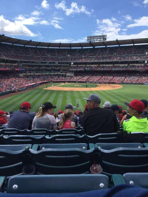 Angel Stadium, secção: P237, fila: Z, lugar: 8