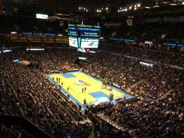 Chesapeake Energy Arena, secção: 304