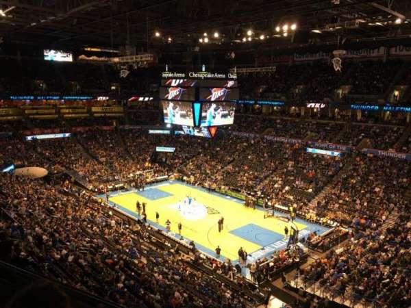 Chesapeake Energy Arena, secção: 305
