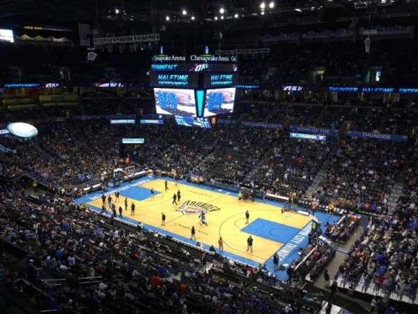 Chesapeake Energy Arena, secção: 306