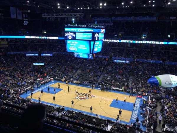 Chesapeake Energy Arena, secção: 309