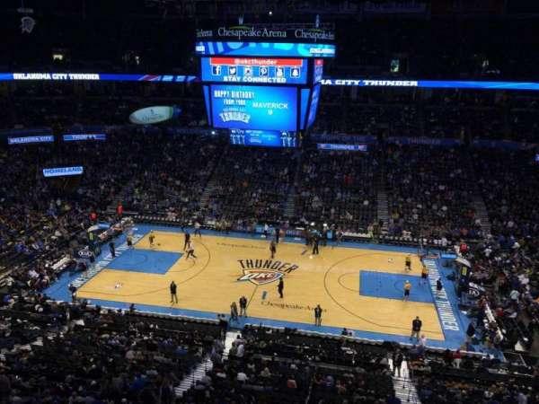 Chesapeake Energy Arena, secção: 310