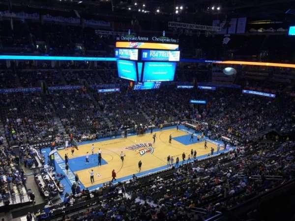 Chesapeake Energy Arena, secção: 311