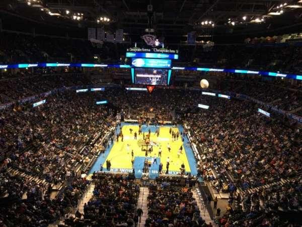 Chesapeake Energy Arena, secção: 316