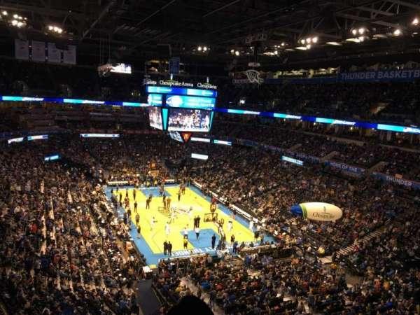 Chesapeake Energy Arena, secção: 318