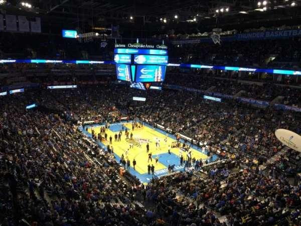 Chesapeake Energy Arena, secção: 319