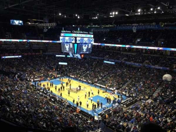 Chesapeake Energy Arena, secção: 320