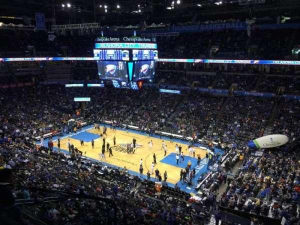 Chesapeake Energy Arena, secção: 321
