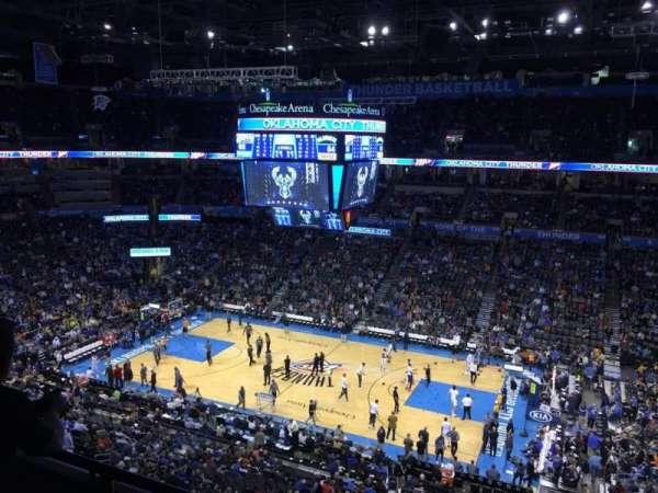 Chesapeake Energy Arena, secção: 322