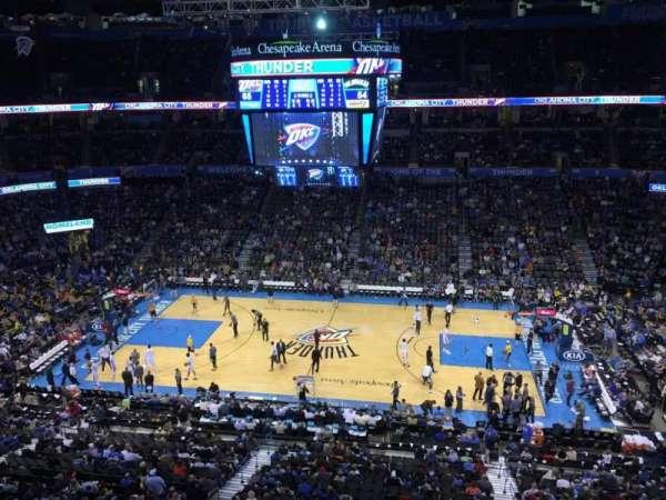 Chesapeake Energy Arena, secção: 323
