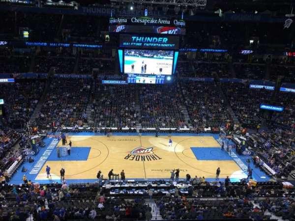 Chesapeake Energy Arena, secção: 324