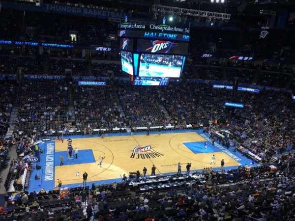 Chesapeake Energy Arena, secção: 325