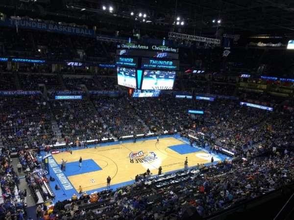 Chesapeake Energy Arena, secção: 326