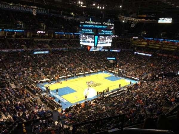 Chesapeake Energy Arena, secção: 327