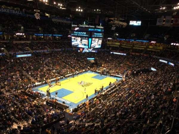 Chesapeake Energy Arena, secção: 328