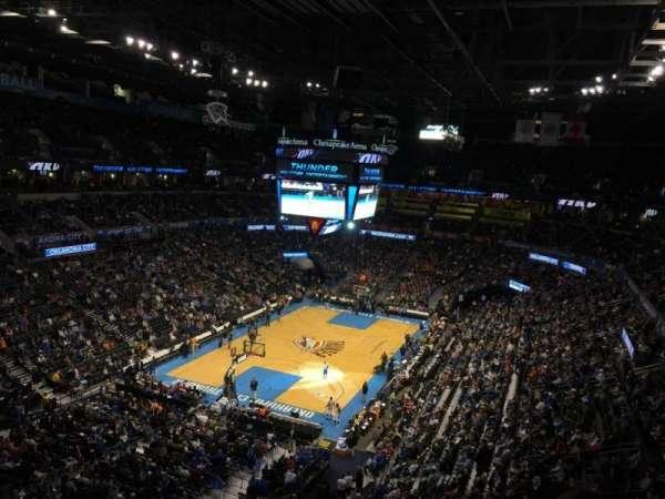 Chesapeake Energy Arena, secção: 329