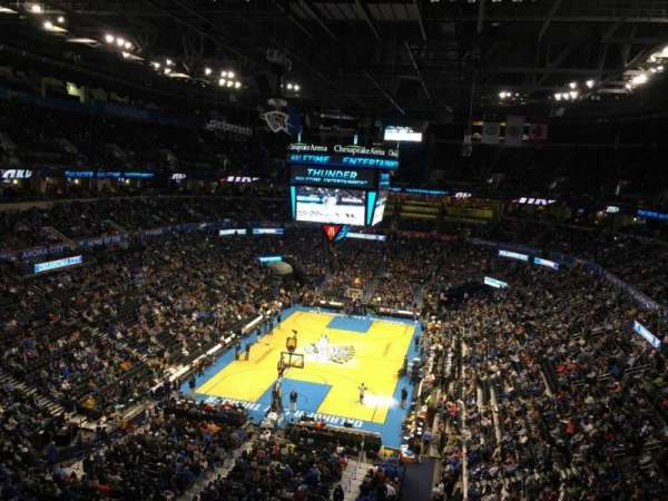 Chesapeake energy arena, secção: 330
