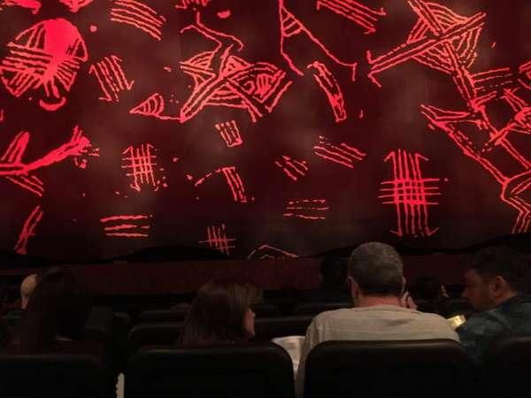 Minskoff Theatre, secção: Orchestra C, fila: E, lugar: 110