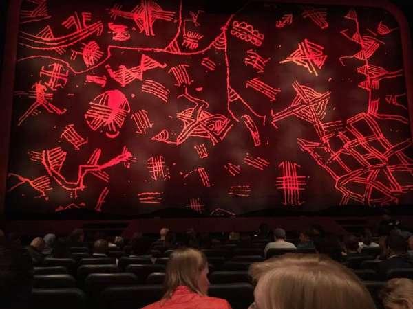 Minskoff Theatre, secção: Orchestra C, fila: J, lugar: 110