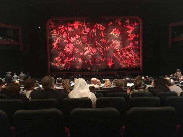 Minskoff Theatre, secção: Orchestra C, fila: X, lugar: 119